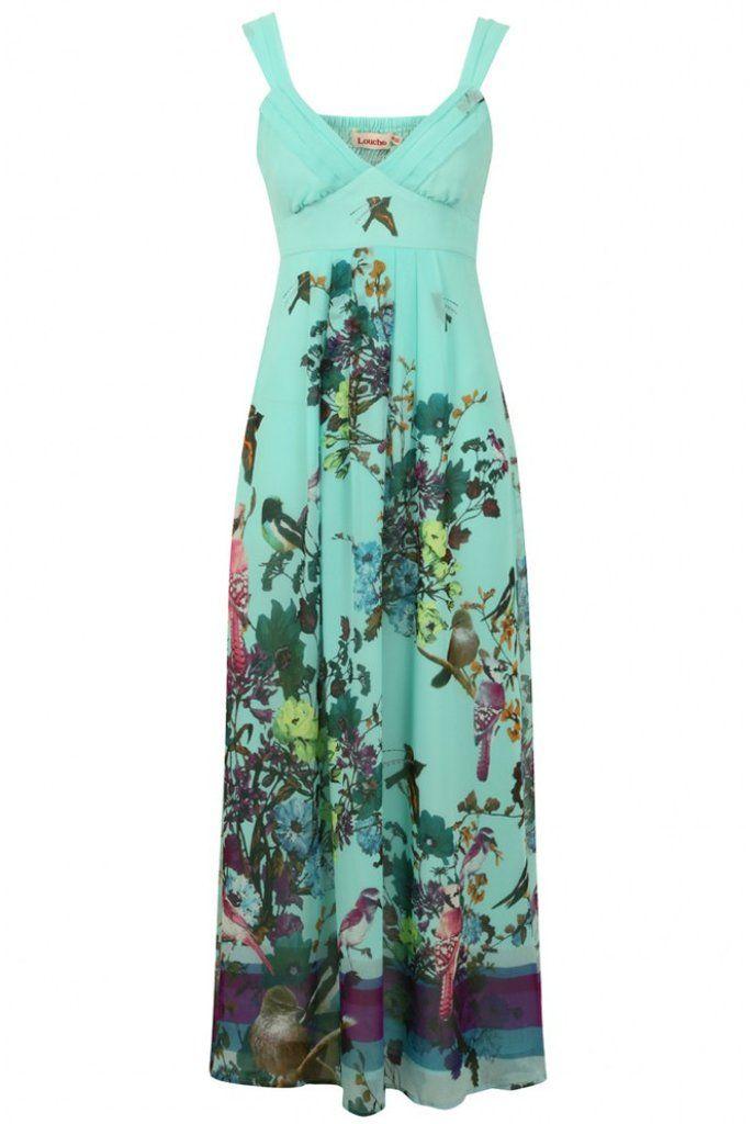 Louche Lenore Maxi Dress