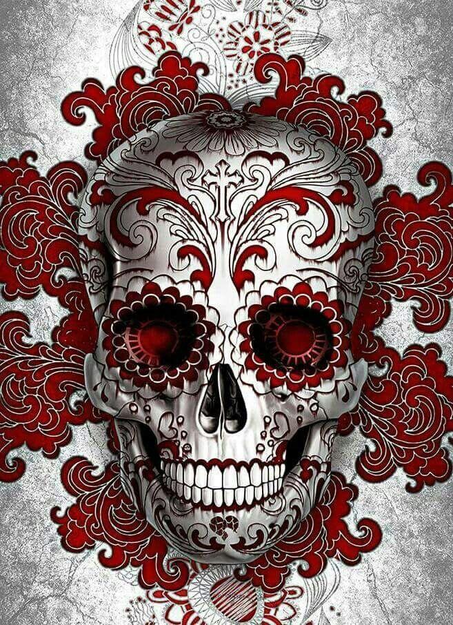 Pin de Jamie Lynn Kupka em Skulls ♡ Sociedade secreta