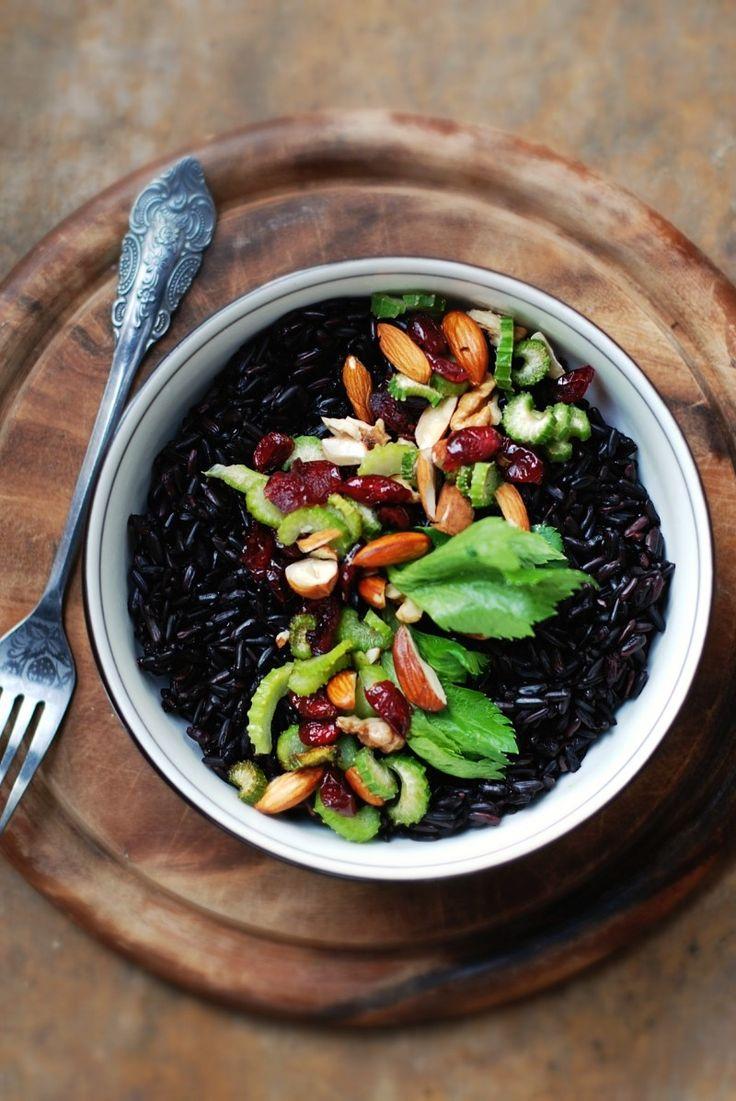 czarny ryz na kolacje/sniadanie
