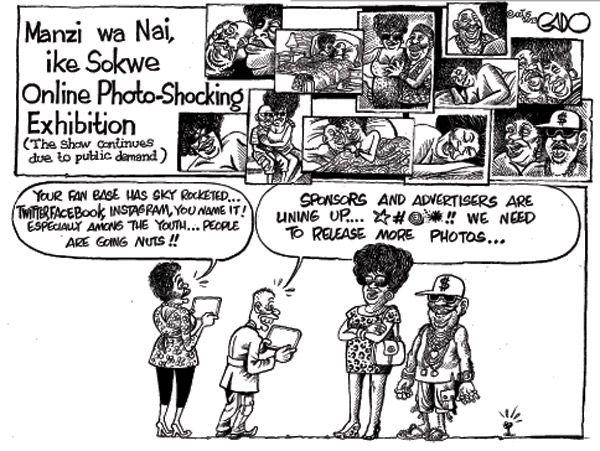 Online Photo-shocking exhibition