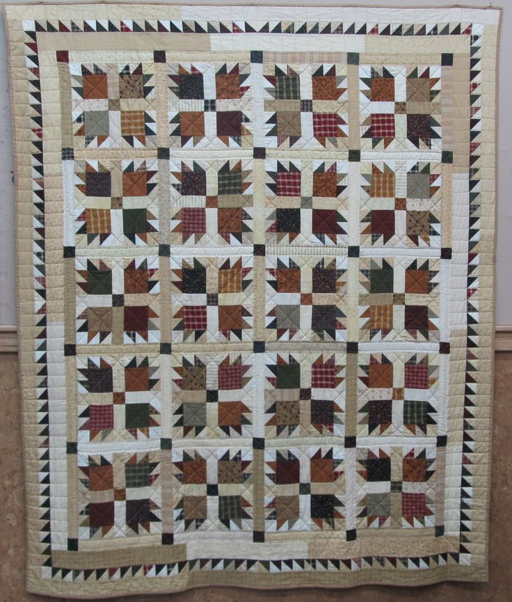 Bear Paw quilt.