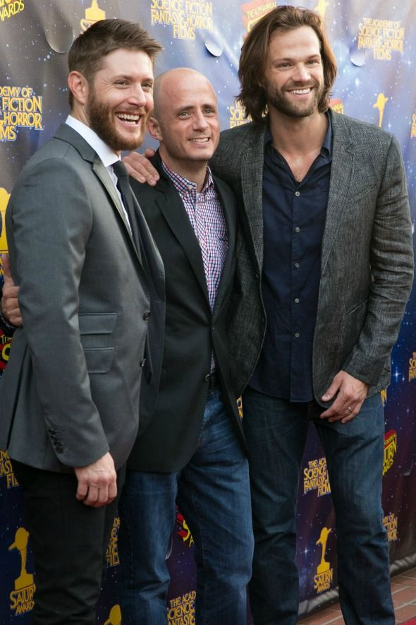 The Winchester brothers themselves — Jared Padalecki and Jensen Ackles — presented Supernatural creator Eric Kripke with the Dan Curtis Legacy Award. For creating and producing one of television's most popular genre programs Supernatural, headed into its 12th season.