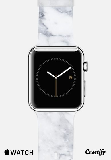 White Marble Apple Watch Band | @Casetify