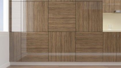 High Gloss Polyester Olive