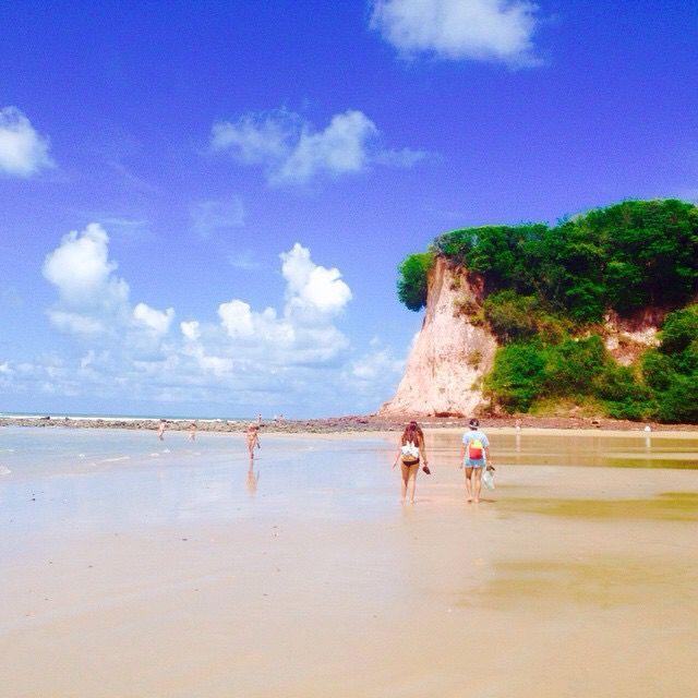 Bahía Dos Golfinhos. Pipa. Natal, RN. Brasil