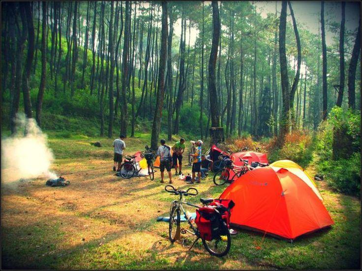 Puntang Mountain, Bandung - Indonesia, so fun to camping here.