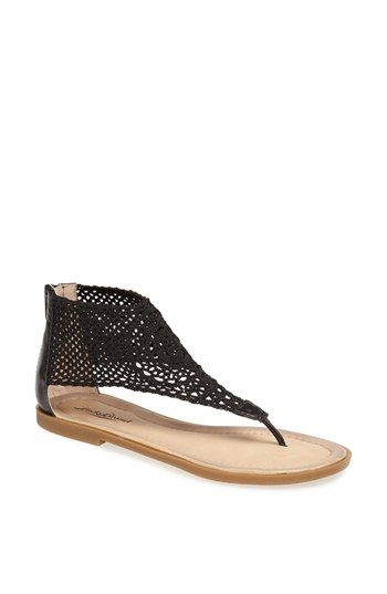 Lucky Brand 'Cropley' Crochet Sandal available at #Nordstrom