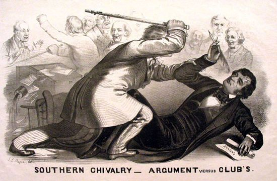 Caning of Charles Sumner - Wikipedia, the free encyclopedia