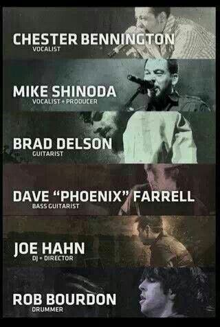 Linkin Park Members!!!!!