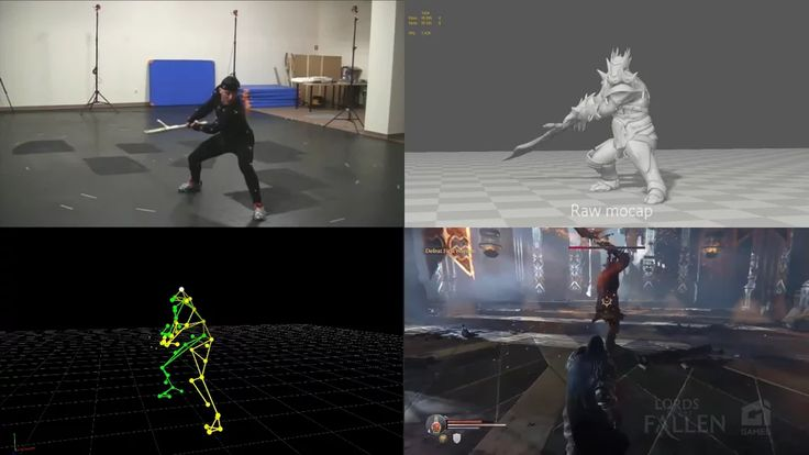 Lords of the Fallen - Motion Capture on Vimeo