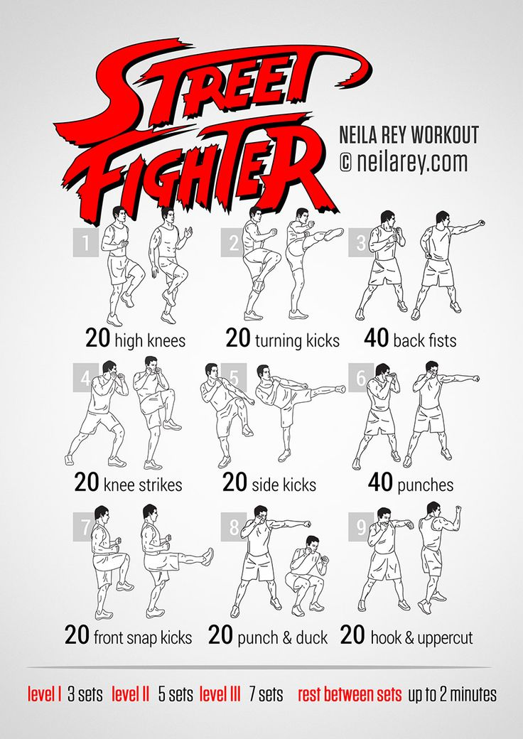 Street Fighter Workout
