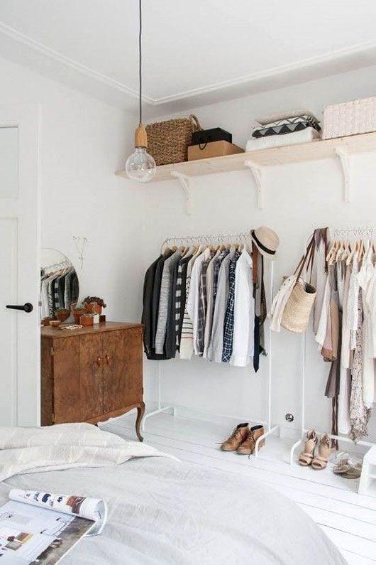 Clothing Area: 12 идей для организации гардероба