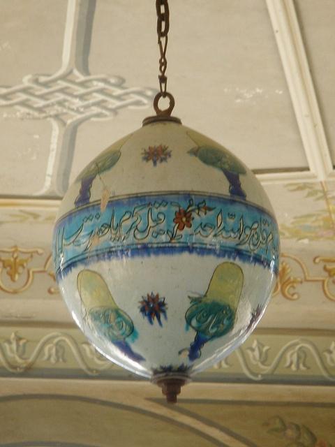 Light fixture                                 Mevlana Museum, Konya