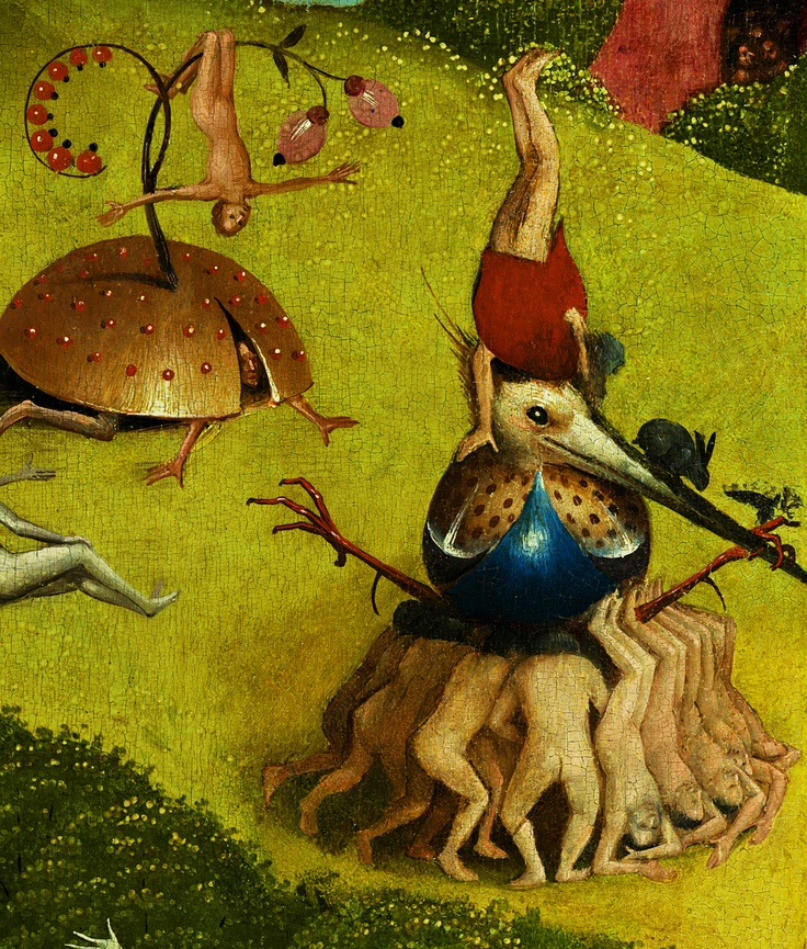 The Garden Of Earthly Delights Detail Bosch Hieronymus