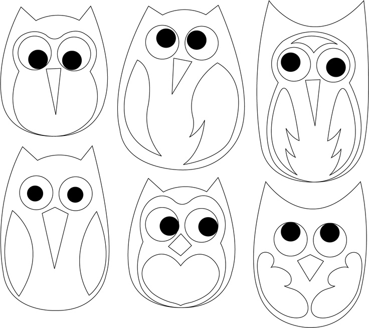 Owl templet from…