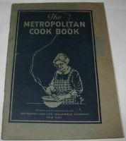 The Metropolitan Cook Book Vintage 1924 Metropolitan Life Insurance Company
