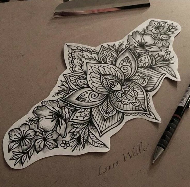 I totally love this design!! Love to have something similar on my lower back!! ♡