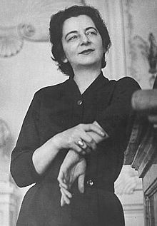 Grażyna Bacewicz (1909 –1969) was a Polish composer and violinist. She is only the second Polish female composer to have achieved national and international recognition, the first being Maria Szymanowska in the early 19th century. Among them are seven violin concertos, five sonatas for violin with piano, three for violin solo, a Quartet for four violins, seven string quartets, and two piano quintets.