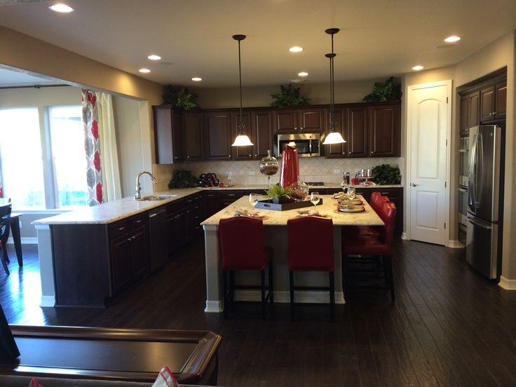 Kitchen by richmond american homes seth model new house for House kitchen model