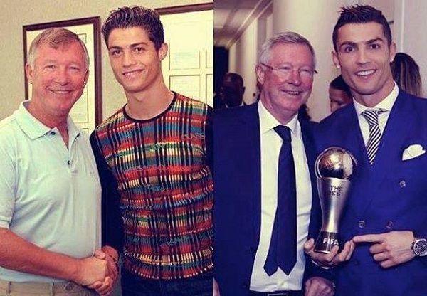 Od Alexa Fergusona zaczęła się wielka kariera Cristiano Ronaldo • Alex Ferguson i Cristiano Ronaldo kiedyś i dziś • Wejdź i zobacz #ronaldo #cristianoronaldo #football #soccer #sports #pilkanozna #futbol #sport #ferguson