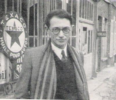 """Former Prime Minister of Israel  Menachem Begin a""""h on an Irgun mission in Paris -1946"""