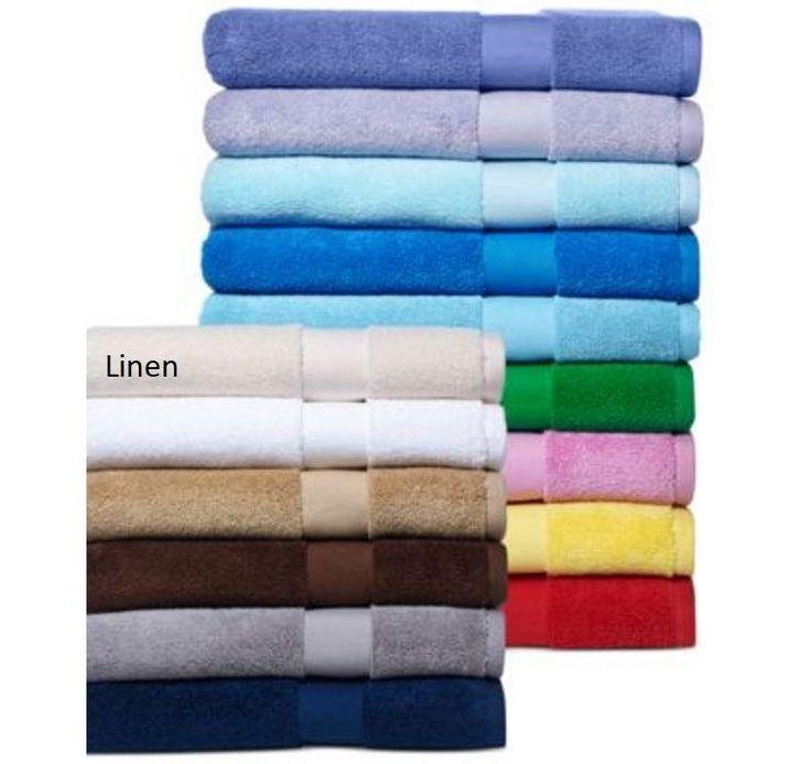 """Ralph Lauren Wescott 56 Sailcloth Linen Cream Bath Towel 30"""" x 56"""" $27"""