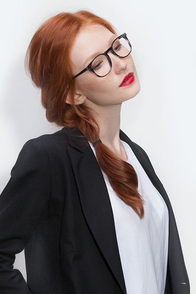 Shade | Striped Granite Acetate Eyeglasses | EyeBuyDirect | Fall Trends 2015  | Handmade Italian Acetate |