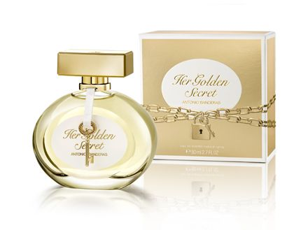 Castiga un parfum si un spray Her Golden Secret by Antonio Banderas! - CONCURSURI