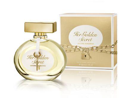 Castiga un parfum si un spray Her Golden Secret by Antonio Banderas! - CONCURSURI