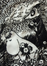 Moomin Embroidery - Alice Daisy Newman