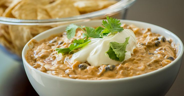 Make this scrumptious appetizer at your next party and watch it disappear! Creamy Slow Cooker Taco Dip.