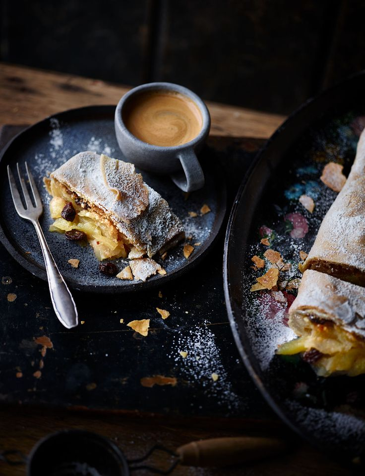 Try our recipe for an authentic apple strudel with a generous filling of Braeburn apples, rum soaked raisins and warming spices. A scrumptious dessert for all the family to enjoy