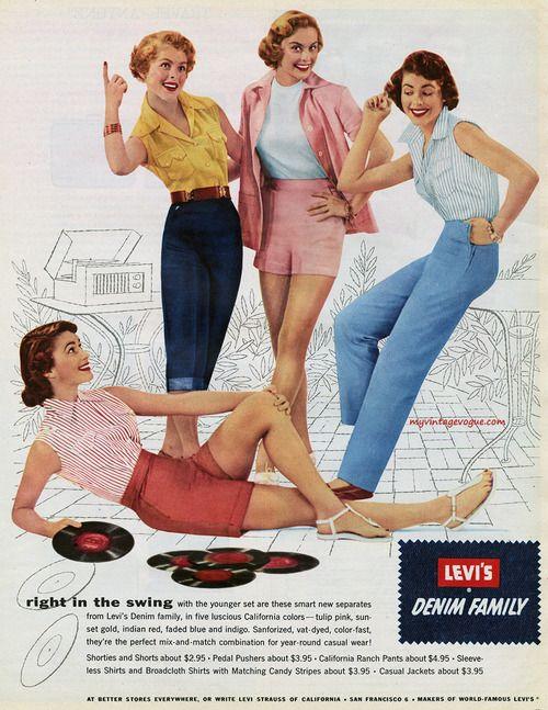 1954 Levi's advertisement