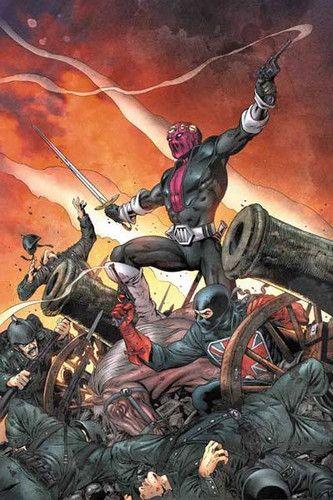 "marvel comics: "" baron zemo ""  ...... !!!!"