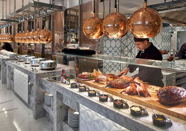 Epicurean At Crown Towers Buffet Restaurant Perth