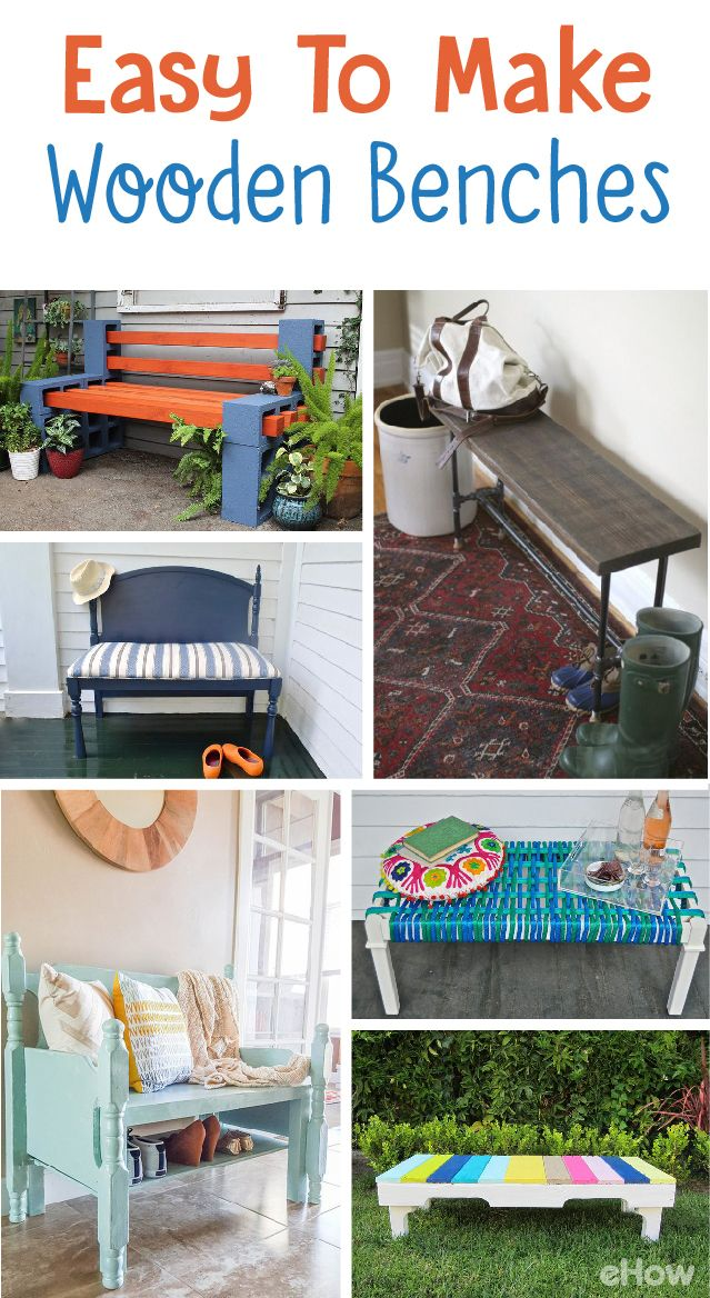 7 diy easy to make wooden benches salvaged furnitureoutdoor