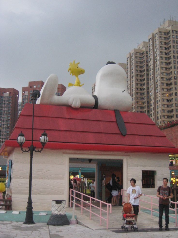 Snoopy's House  ~ Hong Kong