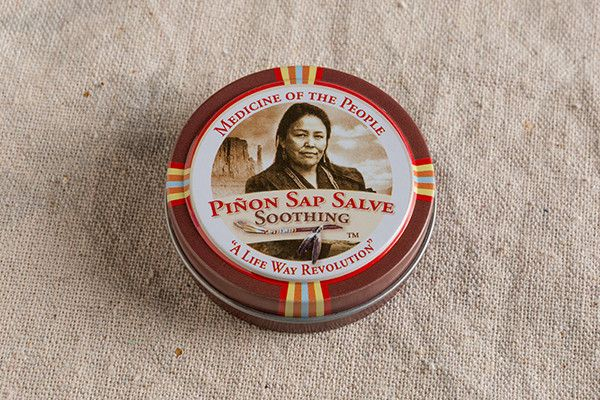Pinon Sap Salve - I swear by this for burns and cuts.