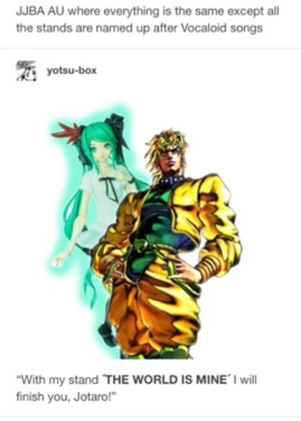 JJBA Vocaloid AU | JoJo's Bizarre Adventure | Know Your Meme