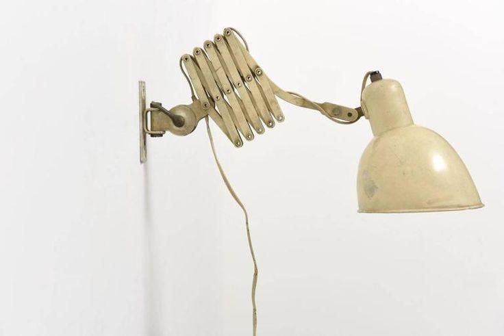 Scissor Wallamp by Belmag Zurich 2