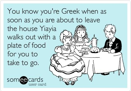 TRAVEL'IN GREECE I You know you're Greek when...