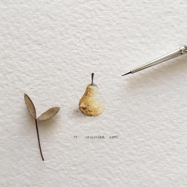 """Hayvanlar Alemi ve Meyveleri Resmeden Sanatçıdan 30+ Çalışma: """"Irene Mia"""" Sanatlı Bi Blog 20"""