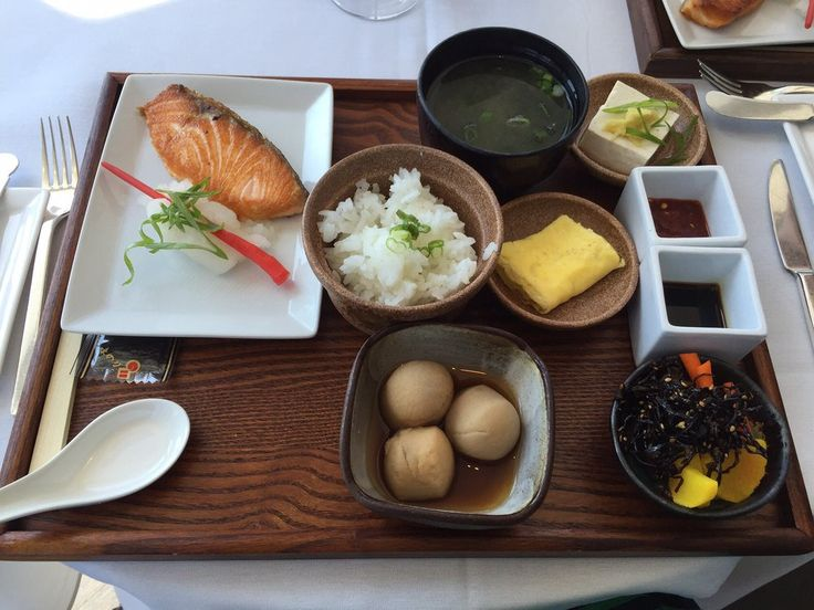Asiate - New York, NY, United States. Japanese breakfast at Asiate