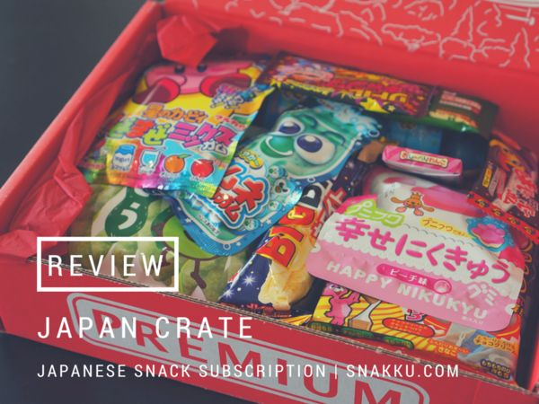 Japanese Snack Box Review: Japan Crate Japanese Candy Subscription Review