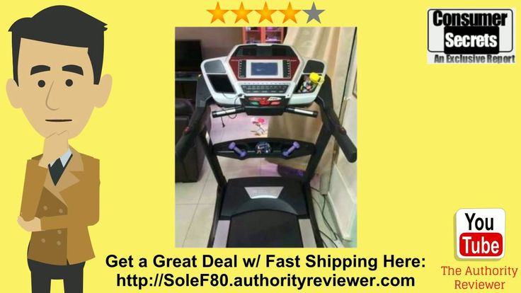 Sole Fitness F80 Review - https://www.youtube.com/watch?v=RGMdJZKl9V4 - Sole Fitness F80 Folding Treadmill Review - Sadly, when your company throws you a deadline that is brief you do not have the option to do. You can not run even though you need to without losing your job and you can not fight with your boss. What this means is this reply goes fresh as well as the pressure that is negative is permitted to assemble. You're not able to utilize it and since you get an adrenaline rush.