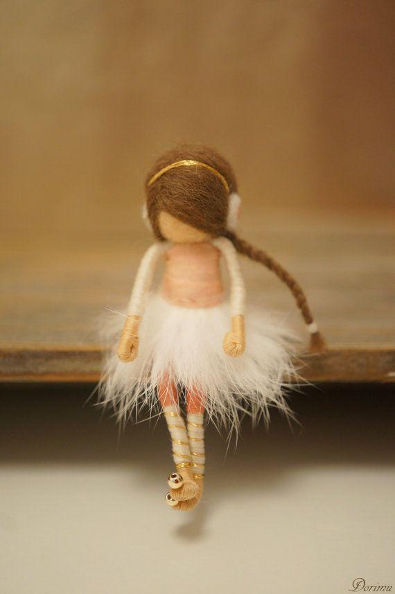 OOAK fairy brooch