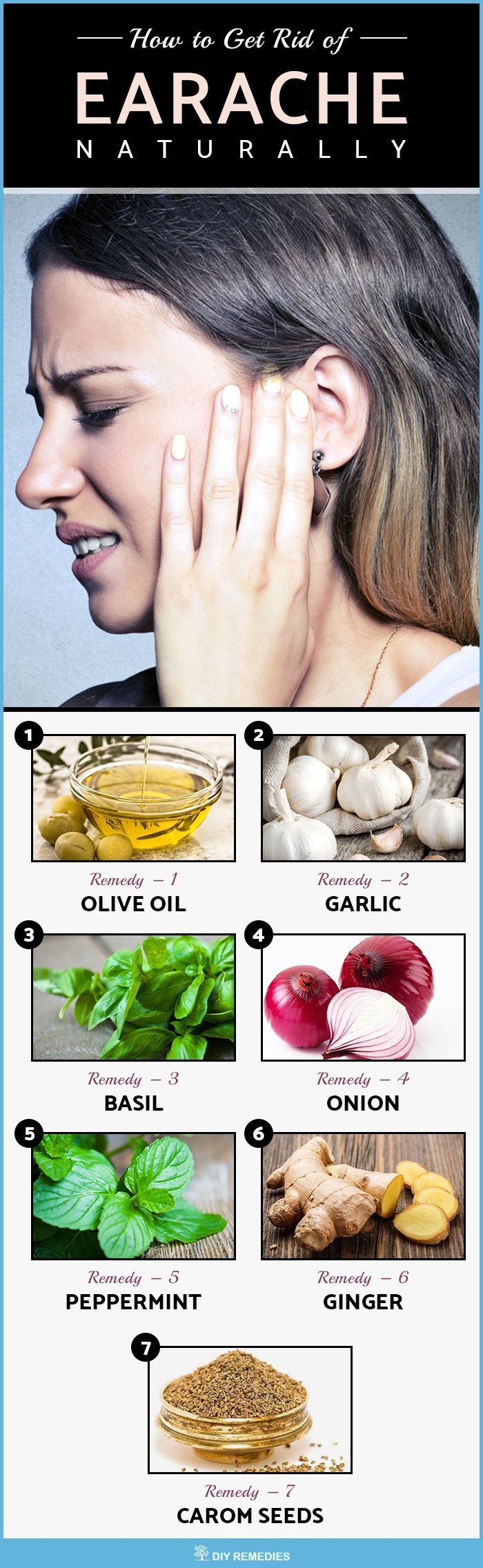 Home Remedies for Earache: Here are the best remedies that effectively treat your earache and its symptoms. All you need is to follow them regularly without any interruption.