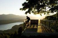 Korutanský jezera Rakousko