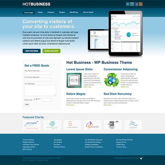 Hot Business by hot-themes on Creative Market