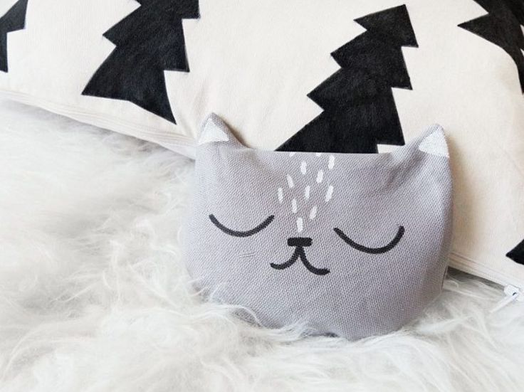 DIY-Anleitung: Süßes Körnerkissen in Katzenform nähen via DaWanda.com